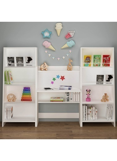 Fly Mobilya Tana Montessori Çalışma Takımı Renkli